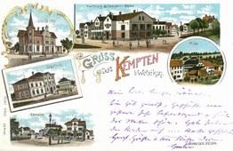 Ansichtskarte Gruss aus Kempten